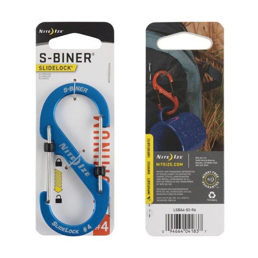 Nite Ize S-Biner Slidelock #4 Blue image 0