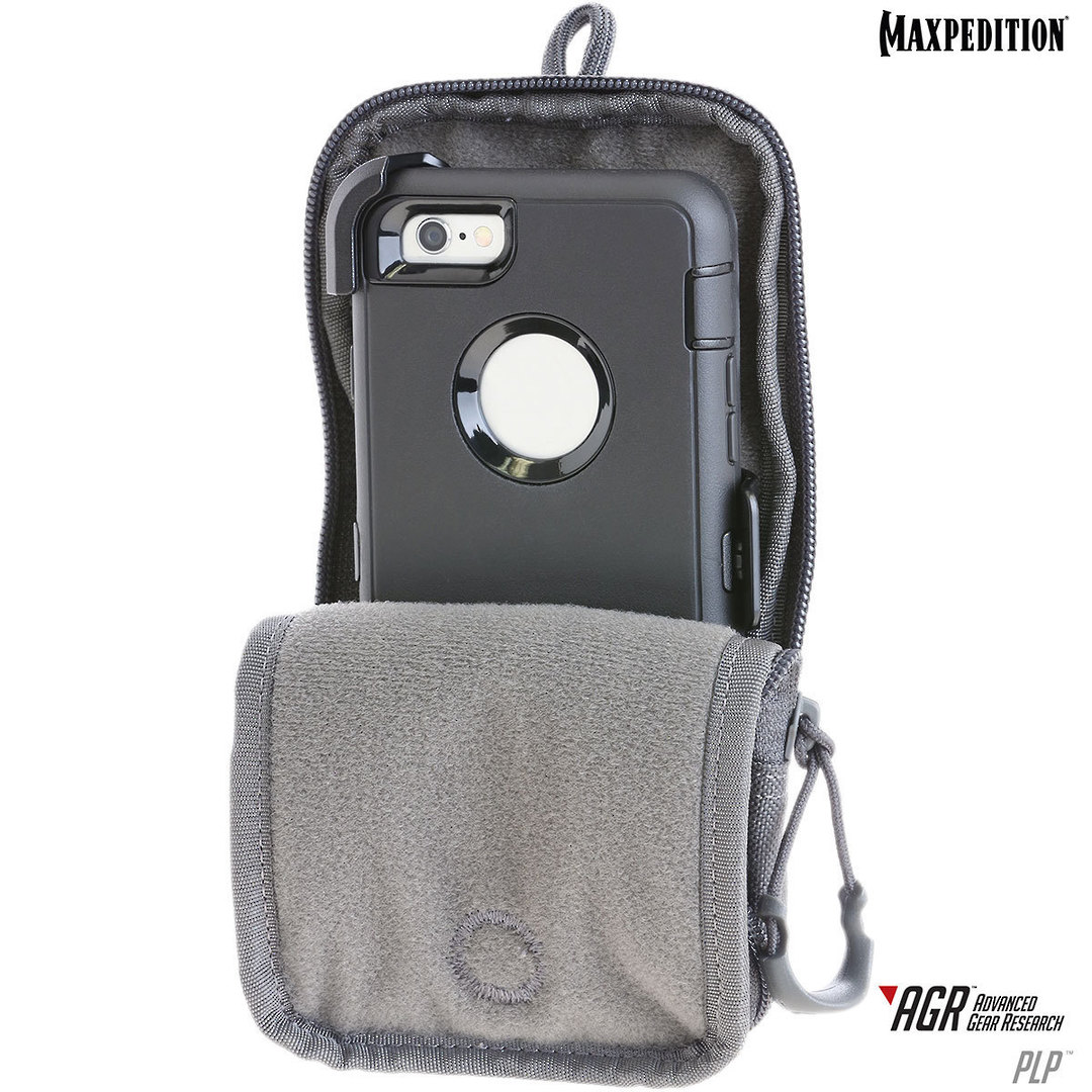 Maxpedition PLP iPhone 6 Plus, iPhone 7 or 8 Plus Pouch, Black image 7