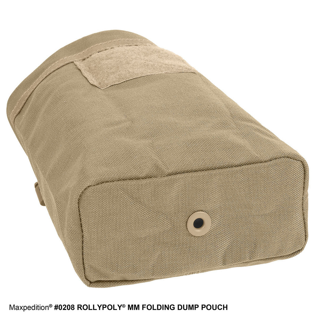 Maxpedition Rollypoly® MM Folding Dump Pouch - Khaki image 6