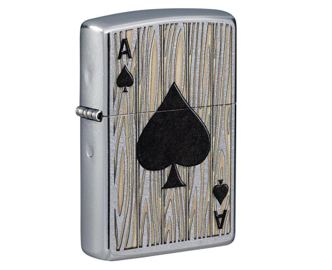 Zippo Ace of Spades Design image 0
