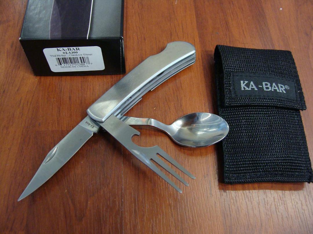 Ka-Bar Hobo Outdoor Dining Kit image 0