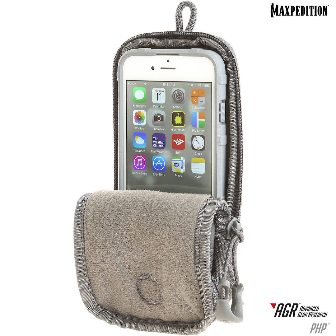 Maxpedition PHP iPhone 6, 6s, 7, 7S Pouch, Black image 3
