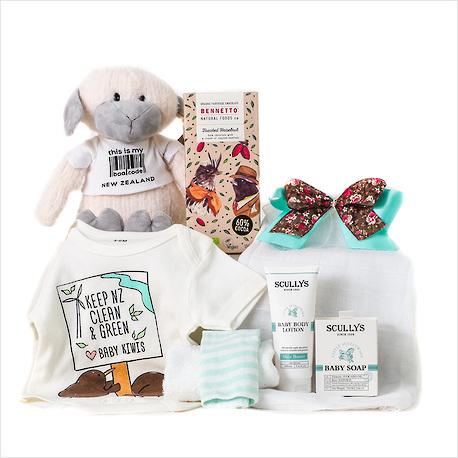 A Kiwi Baby Gift Crate image 0