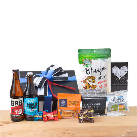 Beer and Snacks Gift Box image 1