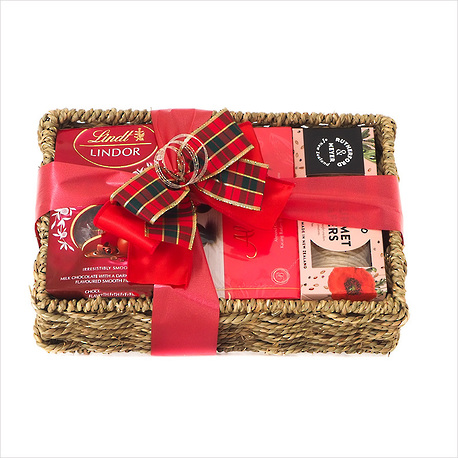 Warm Wishes Gift Basket image 0
