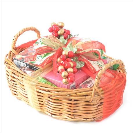 Warm Wishes Christmas Gift Basket image 0
