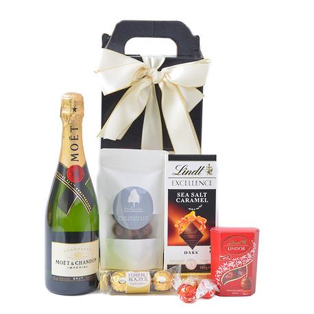 Champagne and Chocolates Gift Box image 1