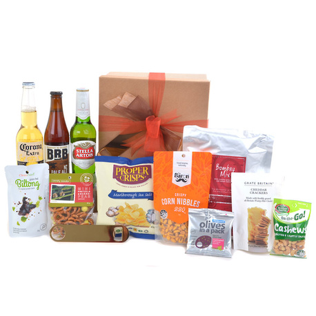 Beer and Nibbles Gift Box image 1