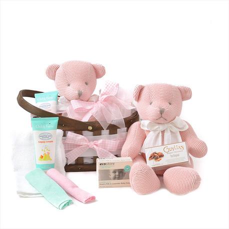 Bear Hugz Baby Gift Basket image 1