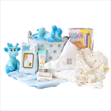 The Complete Baby Gift Hamper in Blue image 0
