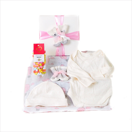 Tiny Toes Baby Gift - Pink image 1