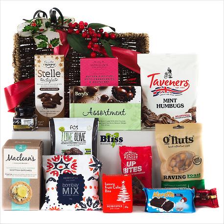 Christmas Treats Gift Basket image 1