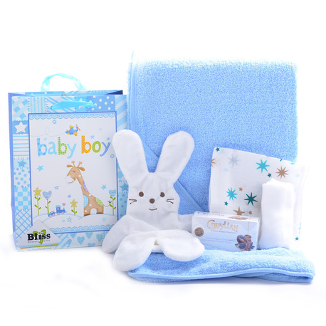 Little Wraps Baby Boy Gift image 1