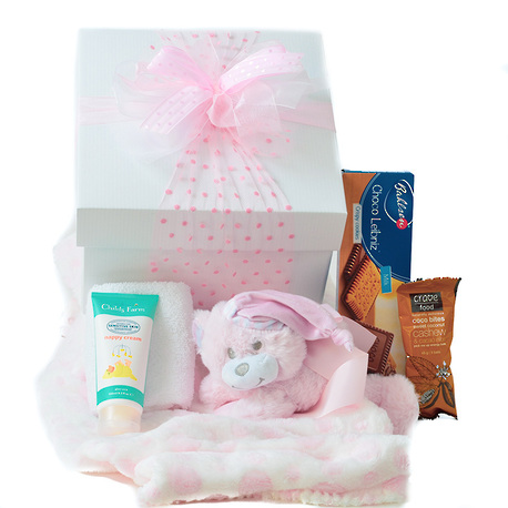 Snuggle Baby Gift Box - Pink image 0