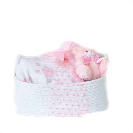 The Complete Baby Gift Hamper in Pink image 1