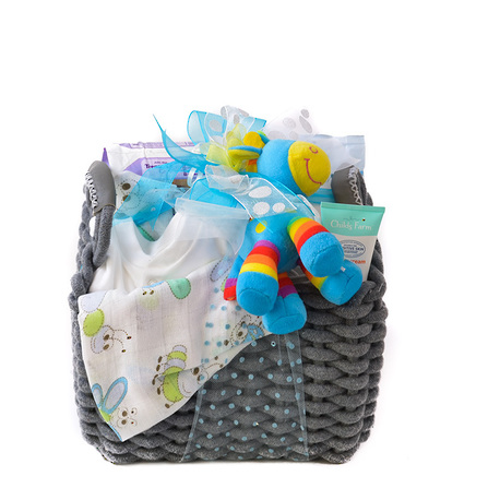 The Complete Baby Gift Hamper in Blue image 1