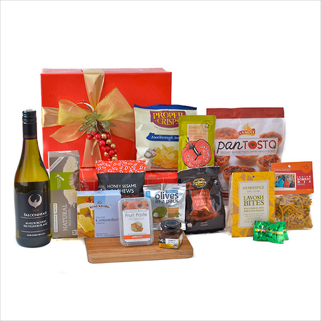 Wine and Cheese for Christmas Gift Box image 1
