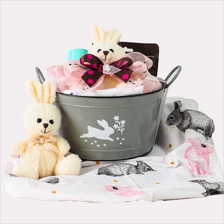 Hello Bunny Baby Girl Gift image 0