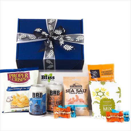 Beer and Snacks Gift Box image 0