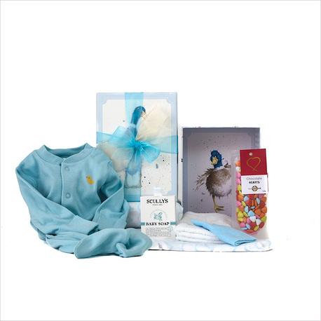 Hello Baby Boy Gift Box image 1