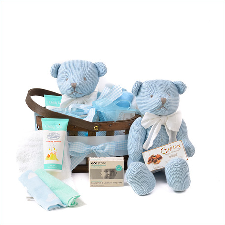 Bear Hugz Baby Gift Basket image 0