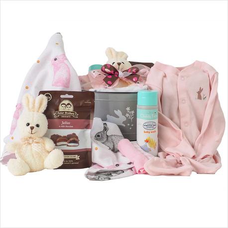 Hello Bunny Baby Girl Gift image 1