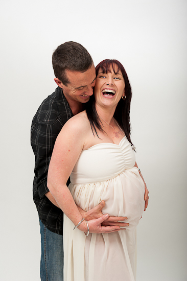 nelson nz maternity preggy pregnancy portrait boutique photography photo fun with husband