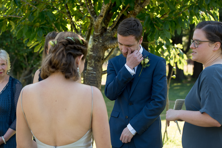 happy_tears monaco grand_mecure wedding ceremony bride groom wedding party sandra johnson boutique photography nelson nz