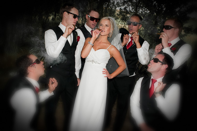 bride bridesmaids bridal party nelson nz wedding photos bridal party bride with groomsmen
