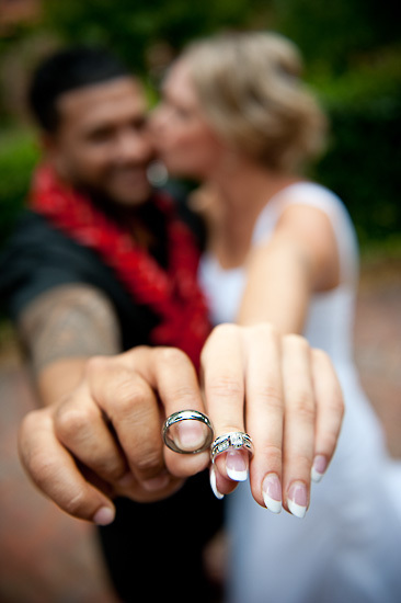 bride and groom love wedding romance glamour nelson nz rings