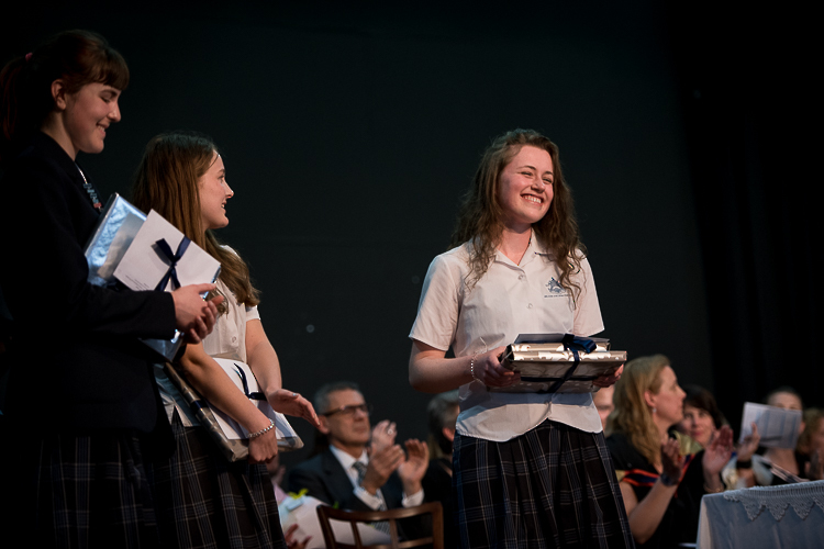 Nelson College for Girl\'s Senior Prize giving dux