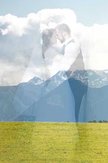 wedding portraits bride groom couple nelson new zealand nz sandra johnson boutique photography love romance hills mountains overlay