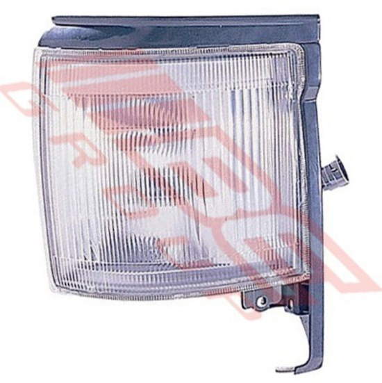 CORNER LAMP - L/H - CLEAR (26-44) - TO SUIT TOYOTA HIACE