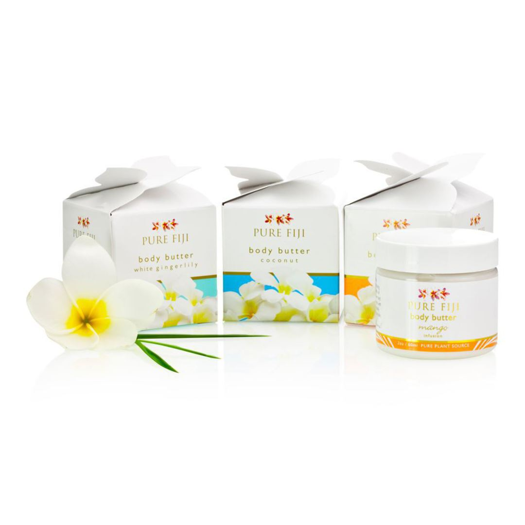 Pure Fiji 3 Pack Travel Body Butter image 0