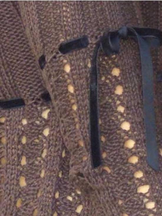 The Eiffel Stunning Romantic Top Hemp Knitting Pattern (Free Pattern Also Available) image 2