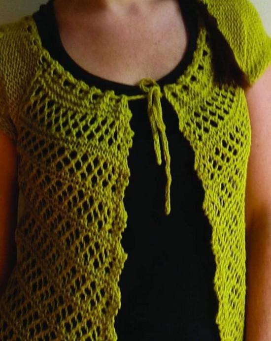 The Florence Top - Hemp Knitting Pattern image 3