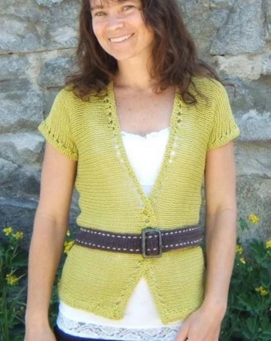 Eyelet Ease Hemp Knitting Pattern image 5