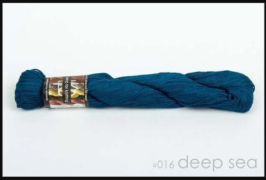 100% Hemp - Double Knitting / 8 Ply Weight - Deep Sea image 0