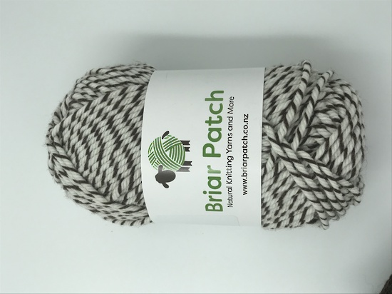Two Dozen Balls of Organically Grown Super Soft Merino Knitting Wool - One Dozen in Each of Chocolate and Marle image 1