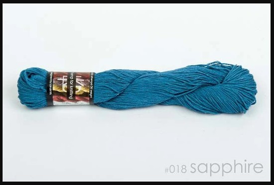 100% Hemp - Double Knitting / 8 Ply Weight - Sapphire image 0