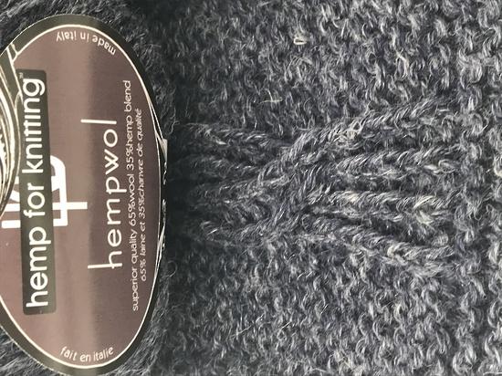65% Wool and 35% Hemp - Double Knitting / 8 Ply Weight  - Riviera image 2
