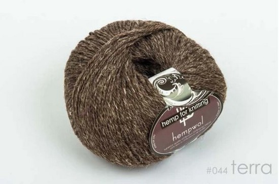 65% Wool and 35% Hemp - Double Knitting / 8 Ply Weight  - Terra image 0
