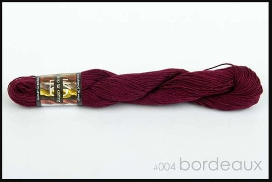 100% Hemp - Double Knitting / 8 Ply Weight - Bordeaux image 0
