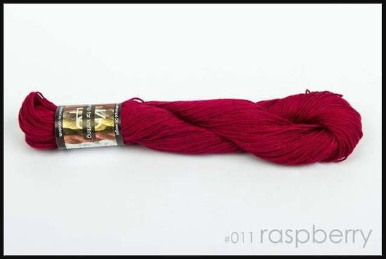 100% Hemp - Double Knitting / 8 Ply Weight - Raspberry image 0