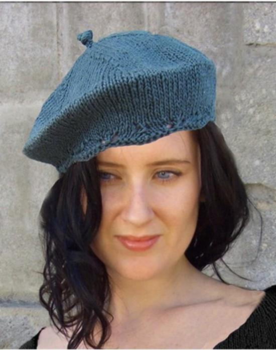 Kathy's Everywhere Tam Hat - Small Hemp Knitting Project image 2