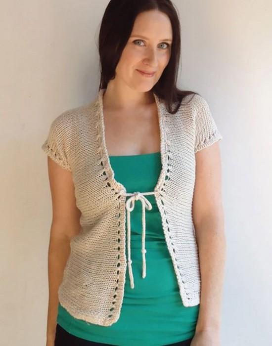 Eyelet Ease Hemp Knitting Pattern image 3