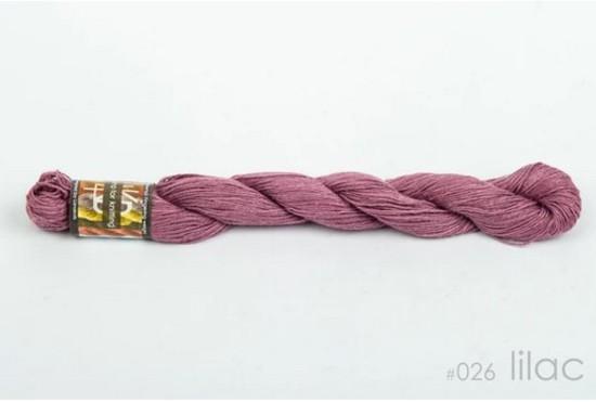 100% Hemp - 4 Ply Weight - Lilac image 0