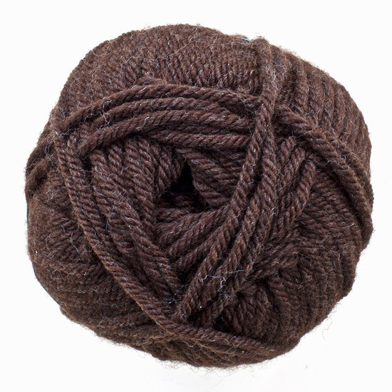 Two Dozen Balls of Chocolate Organically Grown Super Soft Merino Knitting Wool image 1