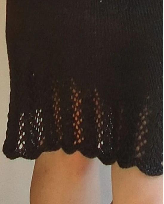 Lovely Leaf Skirt Hemp Knitting Pattern image 4