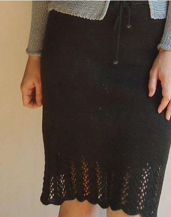 Lovely Leaf Skirt Hemp Knitting Pattern image 3
